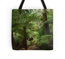 Tree Ferns, Otway Ranges Tote Bag