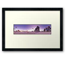 Dockland Sunset 360 Framed Print
