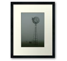 Windmill ,Macendon Ranges Framed Print