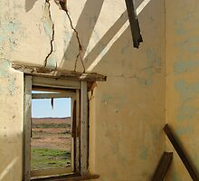 Ruin Old Ghan Railway,Oodnadatta Track by Joe Mortelliti