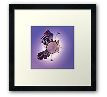 Welcome To My Planet Framed Print