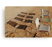 Outdoor Theatre Outback Tibooburra Canvas Print