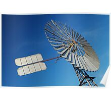 Big Outback Windmill, Boulia,Qld Poster