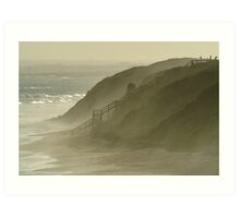 Sea Spray 13th Beach,Bellarine Peninsula Art Print