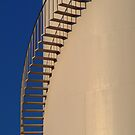 Shadows,Industrial Storage Tank by Joe  Mortelliti
