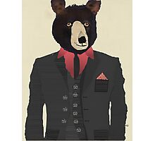 mr grizzly bear Photographic Print