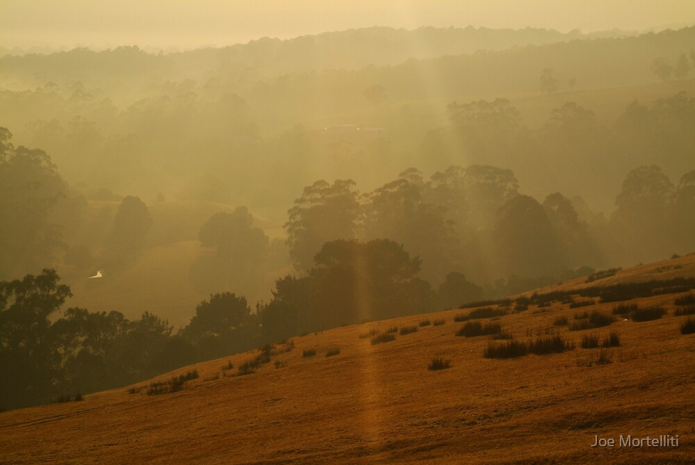Otway Ranges Light by Joe Mortelliti