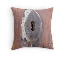 Oval Keyhole: Mdina Malta Throw Pillow