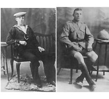 1914-18 Brothers in Arms Photographic Print