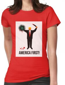 America First Womens Fitted T-Shirt