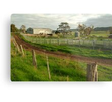 Dairy Farm,Rowsley Metal Print