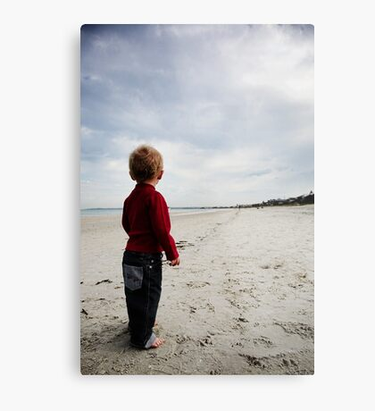 It's a long walk Metal Print
