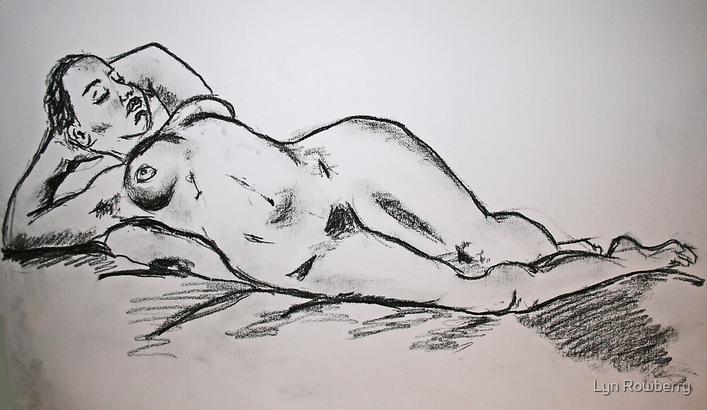 Nude 2 by Lyn Rowberry