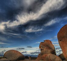 Rocks and Sky by Geoffrey Chang