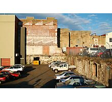 Behind the City Shops,Geelong Photographic Print