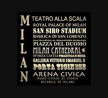Milan Famous Landmarks Unisex T-Shirt
