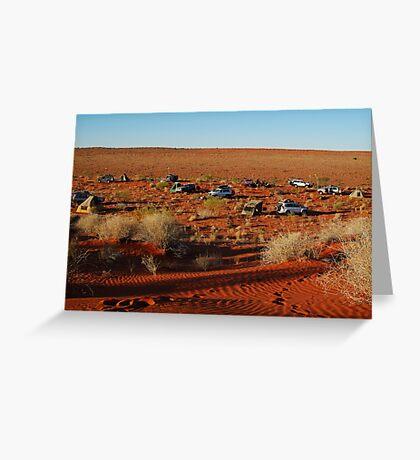 Simpson Desert Adventure,N.T. Greeting Card