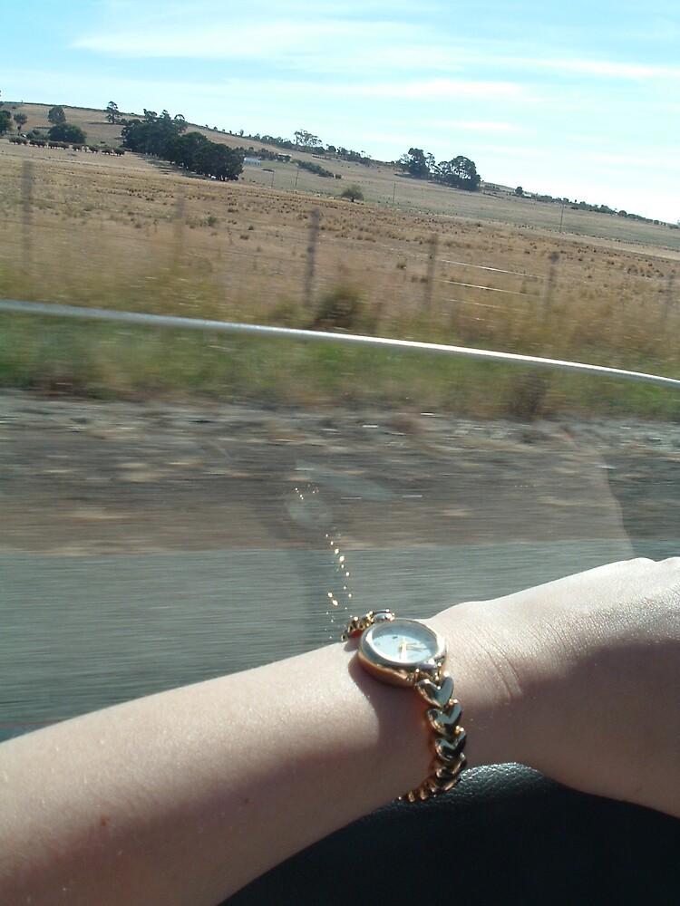 Driving to Devonport by Angela Barnard