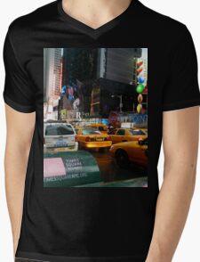 New York City Mens V-Neck T-Shirt
