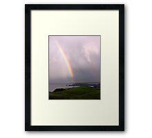 Rainbow at Cape Wrath Framed Print