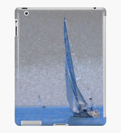 Sail Boat, four in total iPad Case/Skin
