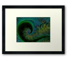 Music Notes Like Coloured Dust Motes Framed Print