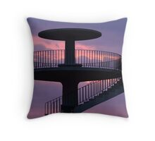 Lookout Tower Geelong Throw Pillow