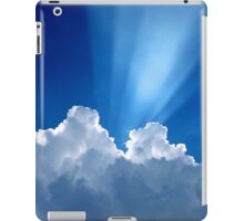 Beautiful Clouds and Blue Sky iPad Case/Skin