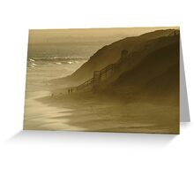 Walk the Dogs 13th Beach Greeting Card