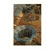 Cray Pots,Apollo Bay Art Print