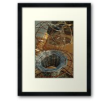 Cray Pots,Apollo Bay Framed Print