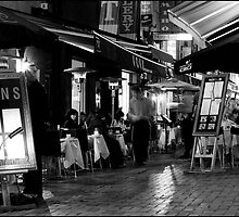 Hardware Lane in Mono by Sidqie Djunaedi