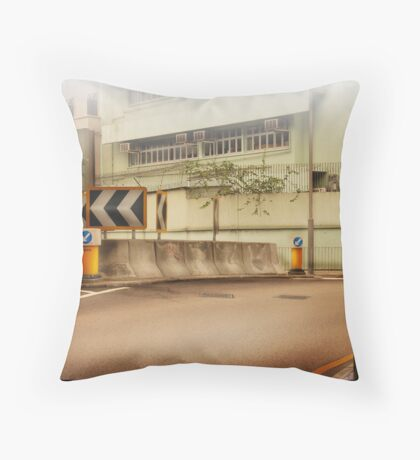Bored Intersection Throw Pillow