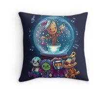 Merry Grootmas  Throw Pillow