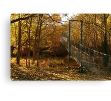 Autumn Walk Clunes Canvas Print
