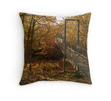 Autumn Walk Clunes Throw Pillow
