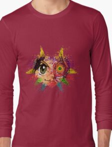Face Majora's Mask Long Sleeve T-Shirt