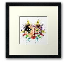 Face Majora's Mask Framed Print