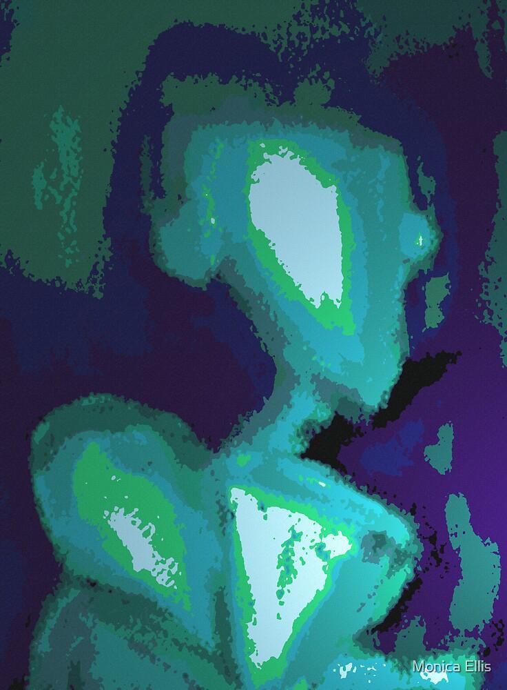 Blue Sitting by Monica Ellis