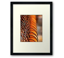 ..weathering time.. Framed Print