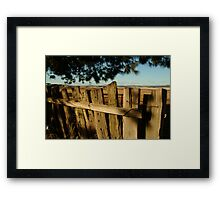 Ascot Farm Lands Framed Print