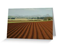 View to Seven Hills of Smeaton Greeting Card