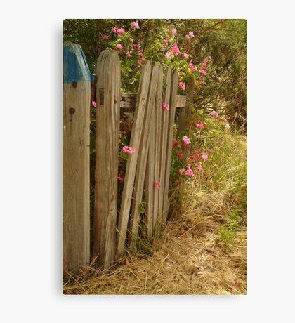 Garden Gateway,Batesford Canvas Print