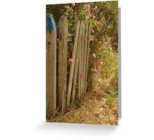 Garden Gateway,Batesford Greeting Card