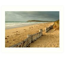 Early Morning Raaf's Beach Art Print