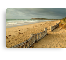 Early Morning Raaf's Beach Canvas Print