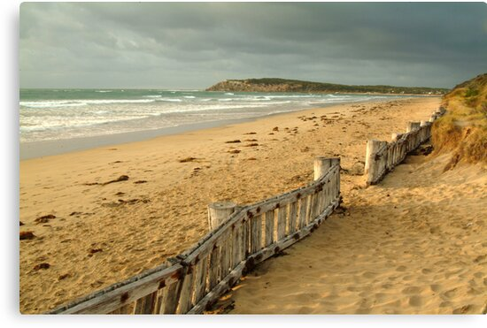 Early Morning Raaf's Beach by Joe Mortelliti