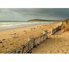 Early Morning Raaf's Beach Photographic Print