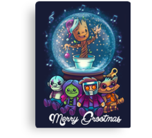 Merry Grootmas  Canvas Print