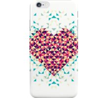 A heart is made of bits and pieces iPhone Case/Skin